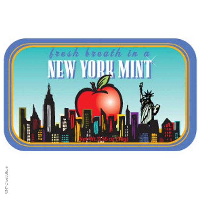 Big Apple New York City Mint Tins