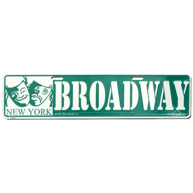 New York City Broadway Street Sign