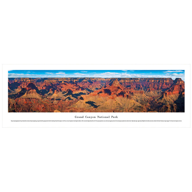 Panoramic Grand Canyon Poster
