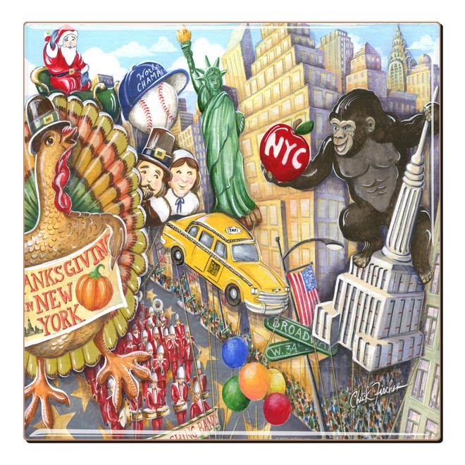 Thanksgiving Day Parade Coaster