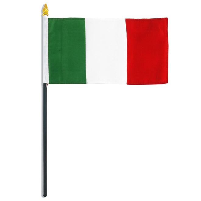 Mini Italy Stick Flag