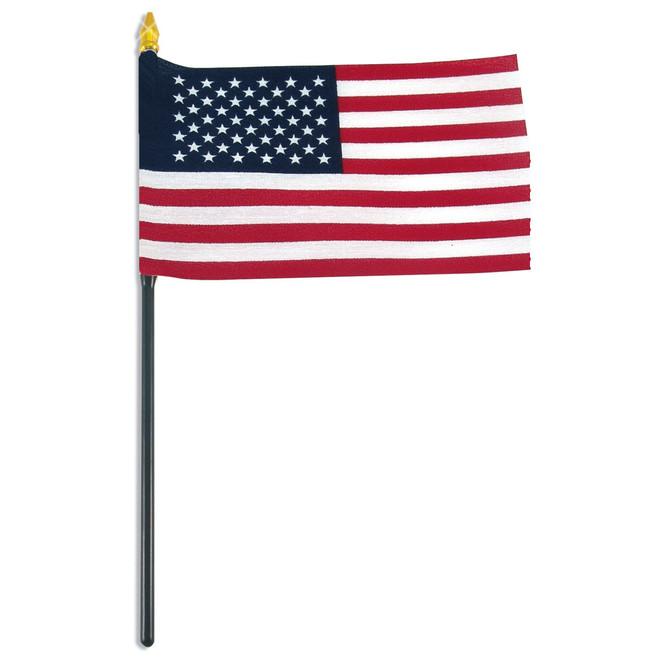 Mini USA Stick Flag
