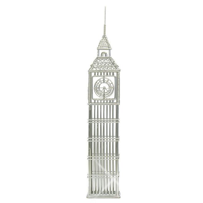 London Big Ben Statue Replica Steel Wire Model