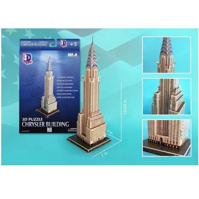 3D Chrysler Building Puzzle