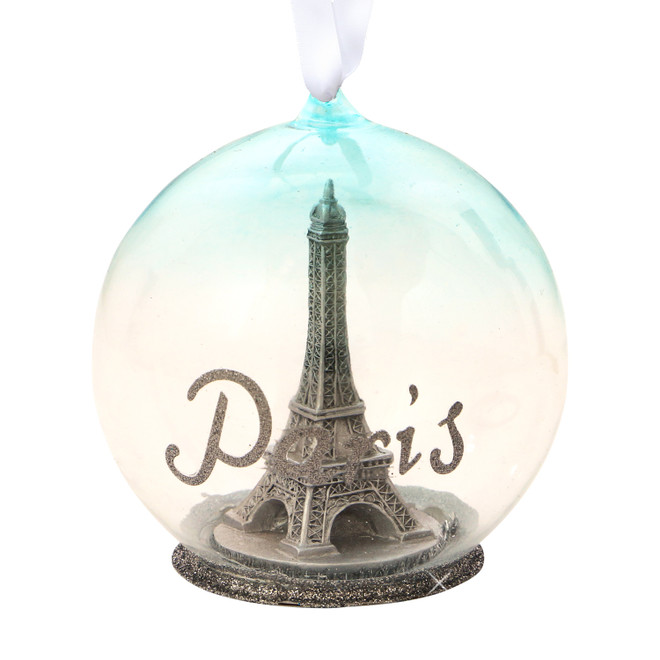 Eiffel Tower Memory Globe