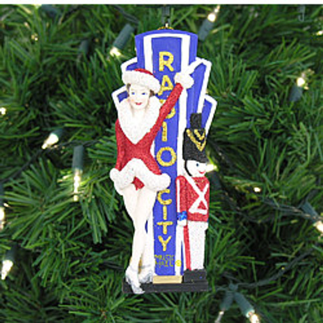 Radio City Rockette and Toy Soldier Ornament