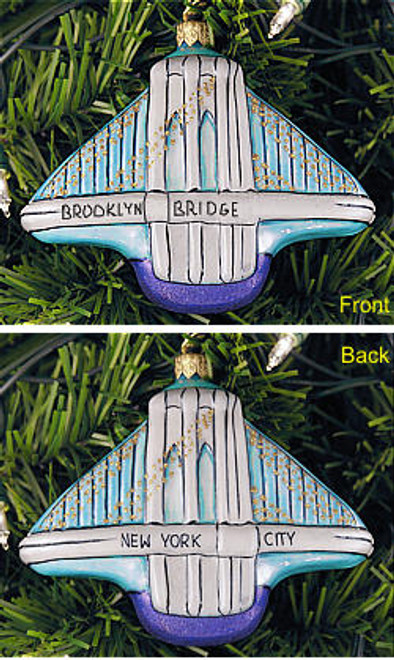 3D - Brooklyn Bridge Ornament