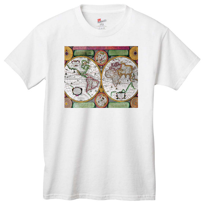 Antique World Globe T-Shirt
