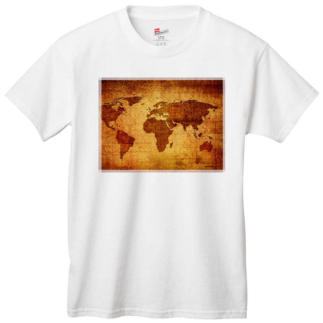 Antique World Map Apparel
