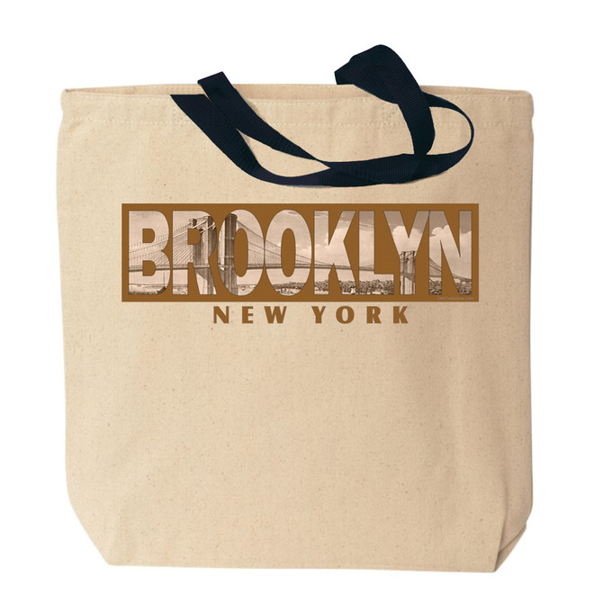 Brooklyn Canvas Tote Bag