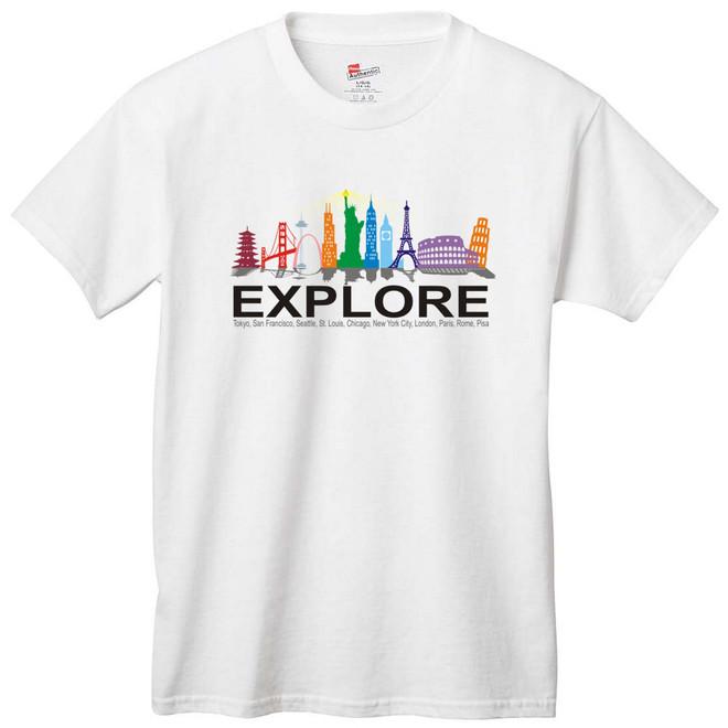 World City Landmarks T-Shirt