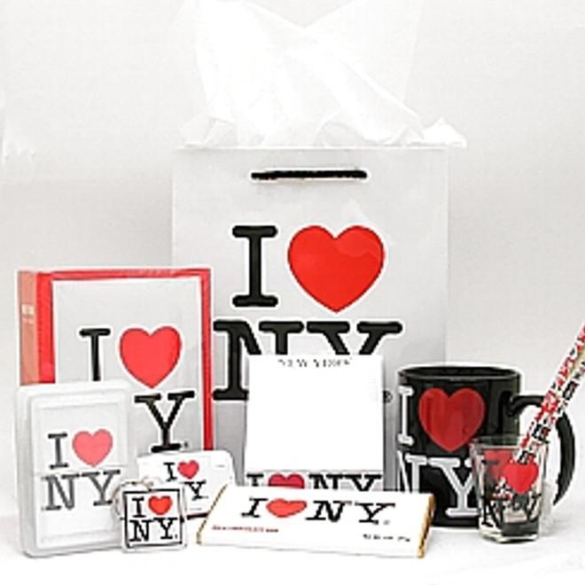 New York City I Love NY Gift Basket