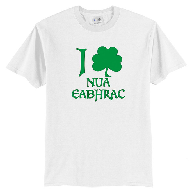 Irish Love New York T-Shirt