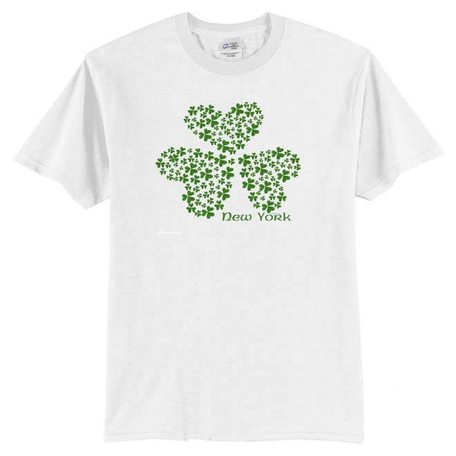 New York Multi-Shamrock T-Shirt