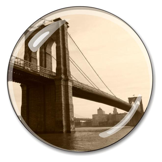 Vintage Brooklyn Bridge Paperweight