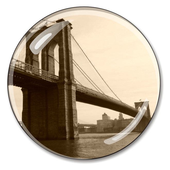 Vintage Brooklyn Bridge Paperweight