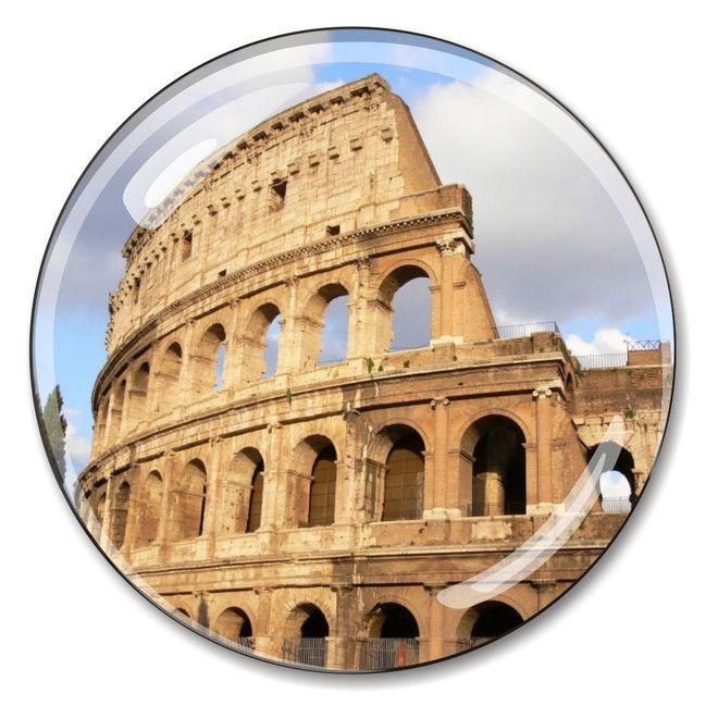 Italy's Roman Coliseum Paperweight