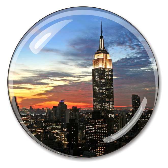 New York City's Empire State Building Paperweight
