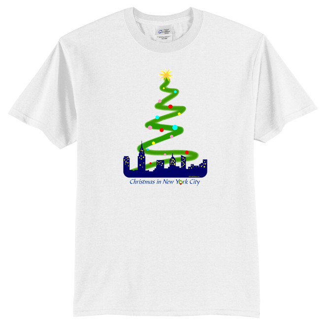 Youth NYC Skyline and Rockefeller Center T-Shirt
