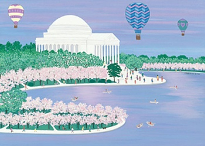 Jefferson Monument Scene