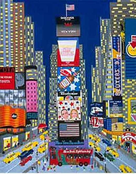Times Square Scene Art