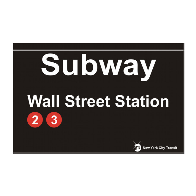 Subway Wall Street Magnet