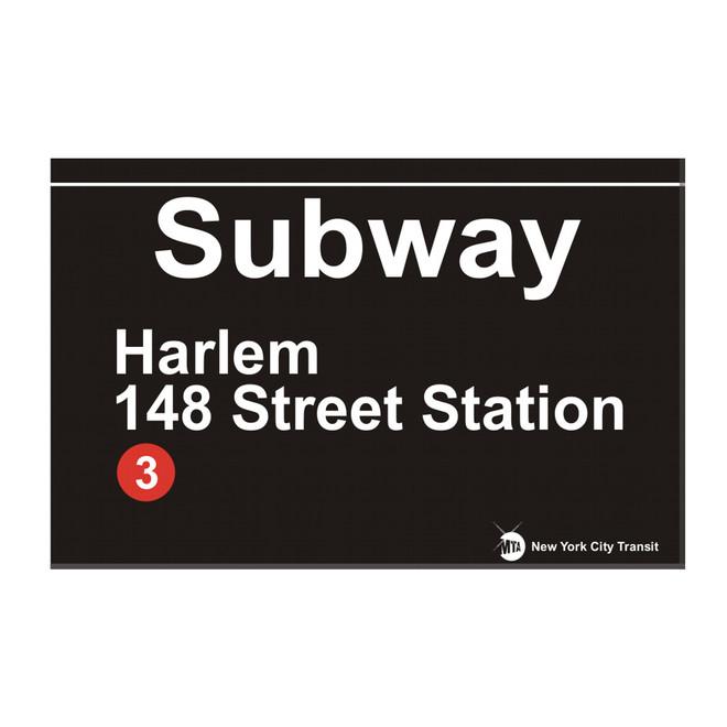 148 Stree Station Subway Harlem Magnet