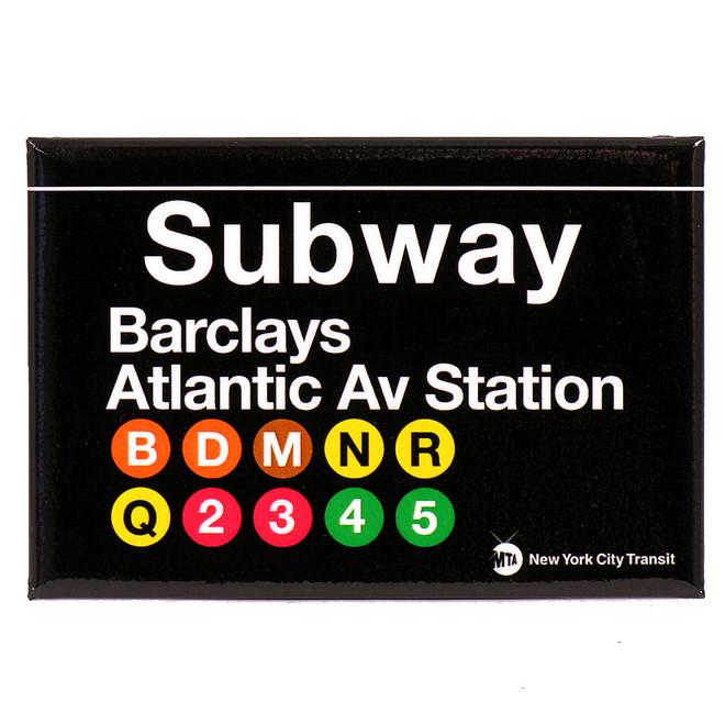 Barclays Atlantic Ave Brooklyn Subway Magnet