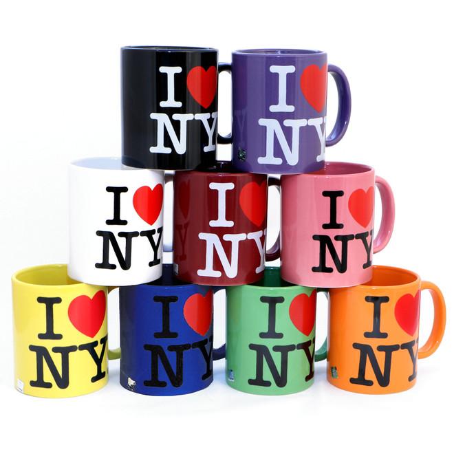 I Love NY Mugs all All Colors