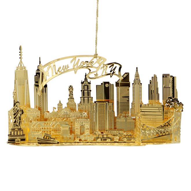 Skyline 3D New York City Ornament