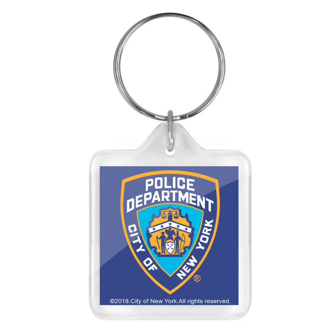 NYPD Key Chain
