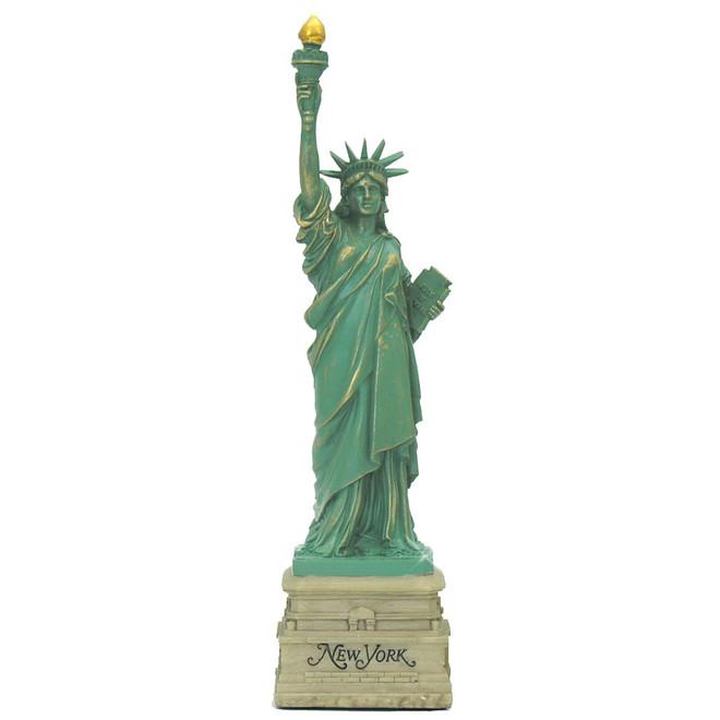 USA Travel Statue of Liberty Large Keyring New York City
