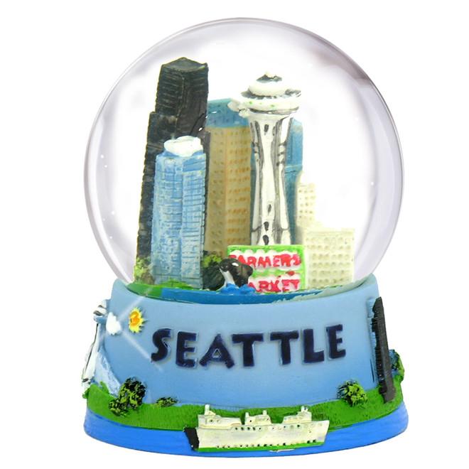 Seattle Snow Globe