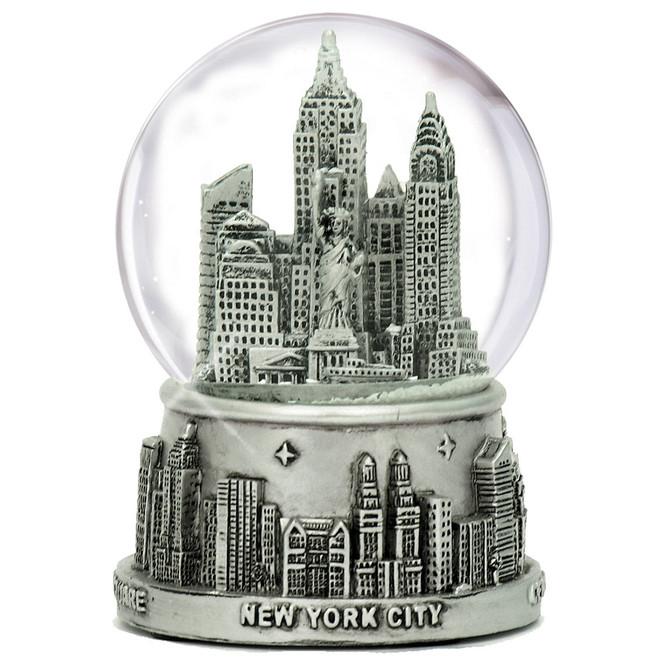 New York City snow globe 65mm skyline of NYC souvenir