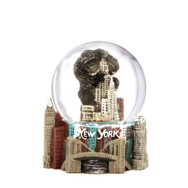 Mini King Kong NYC Snow Globe