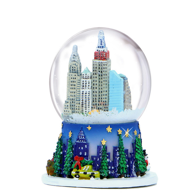 Rockefeller Center Snow Globe 2.5 Inches Tall