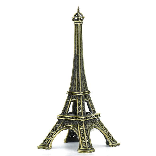 Bronze Eiffel Tower Statue Replica