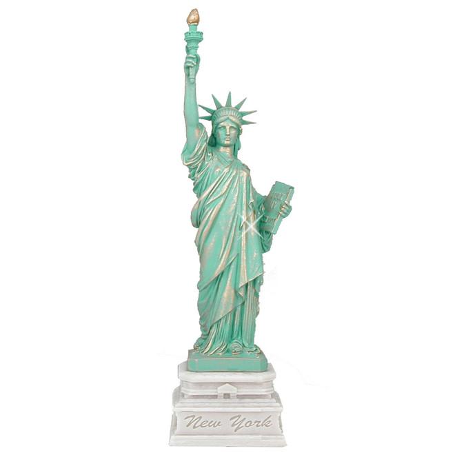 24 Inch Marble Statue of Liberty Statue Replica