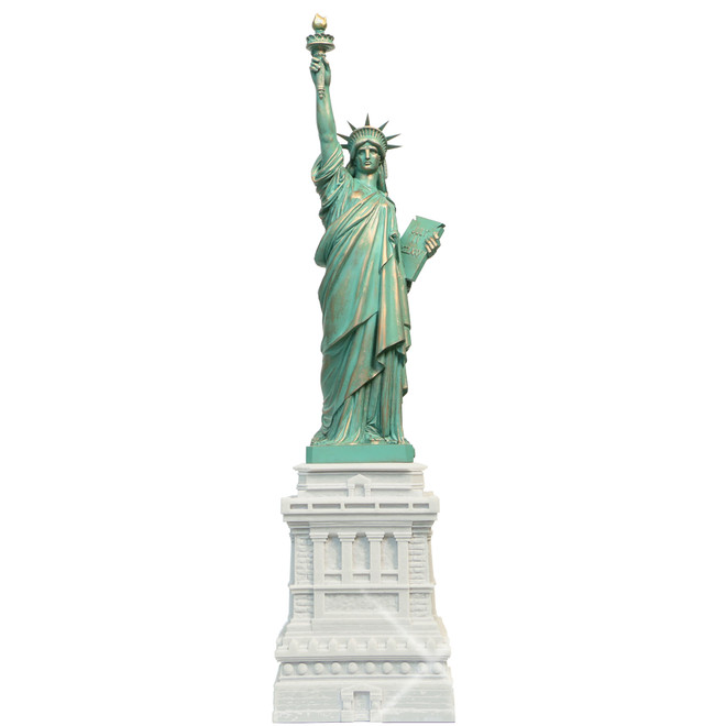 31 Inch Marble Statue of Liberty Replica Statue from Liberty Island in New York City