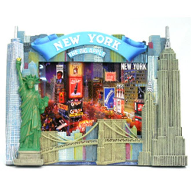 5x7 New York City Skyline Photo Frame