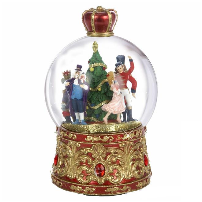 Musical Nutcracker Snow Globe