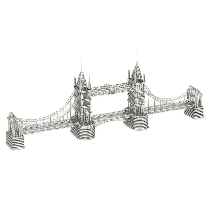 London's Tower Bridge Wire Model