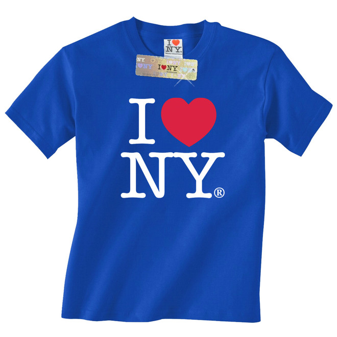 Royal Blue I Love NY T-Shirt 265384b445f