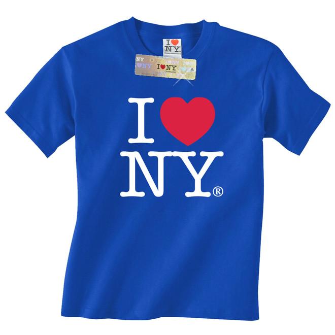 ef2d53a8 Royal Blue I Love NY T-Shirt