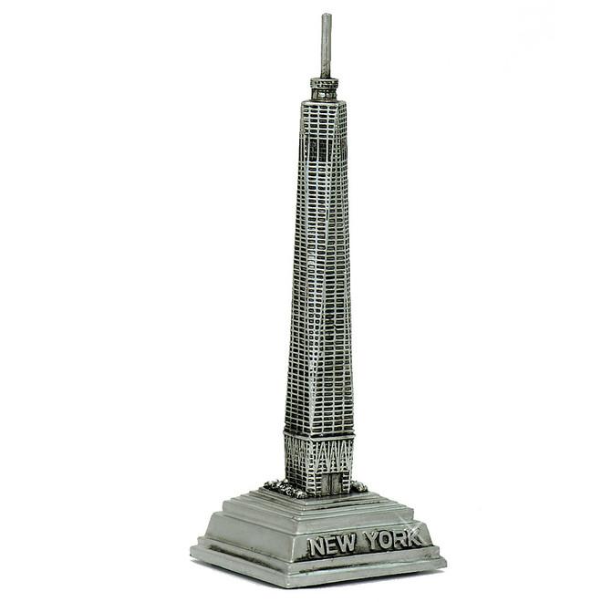 Freedom Tower Model, World Trade Center statue and Ground Zero replica