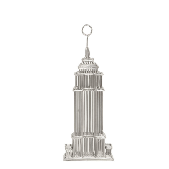 Empire State Building Photo and Memo Clip Metal