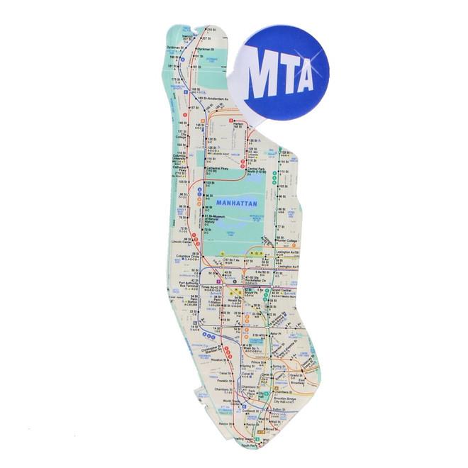 Map Of New York Subway Map.New York City Subway Map Acrylic Magnet