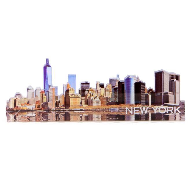 New York City Downtown Skyline Magnet Acrylic