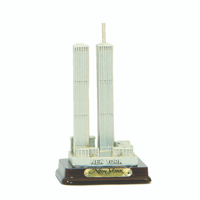 Twin Towers Replica Statue