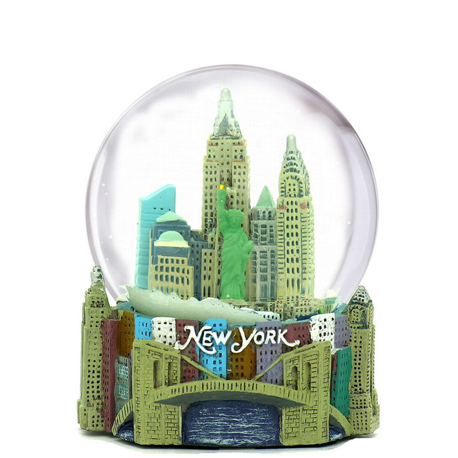 New York City Snow Globe Skyline 2.5 Inches